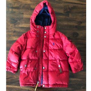 Unisex Ralph Lauren Puffer Jacket